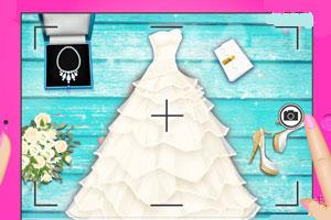 灰姑娘婚纱时尚博客