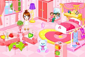 可爱娃娃布置房间