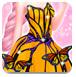 艾莎的蝴蝶装扮