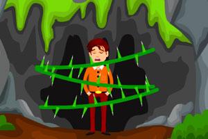 逃离猎豹山洞