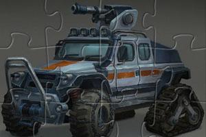 北极战车拼图