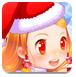 可爱的女孩过圣诞