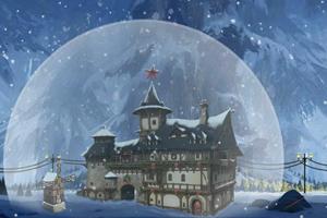 逃离下雪魔法城堡
