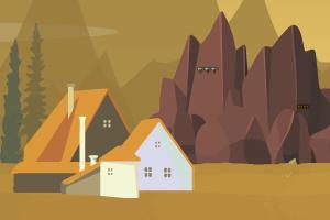 寻找沙漠洞穴金子