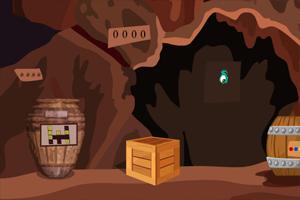 逃离怪物的洞穴