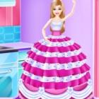 梦幻公主蛋糕