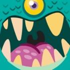 怪兽吃小球