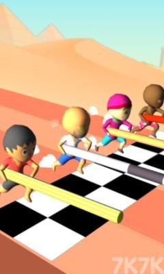 《跳跃吧橡胶人》游戏画面2
