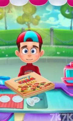 《制作香腸披薩》游戲畫面6