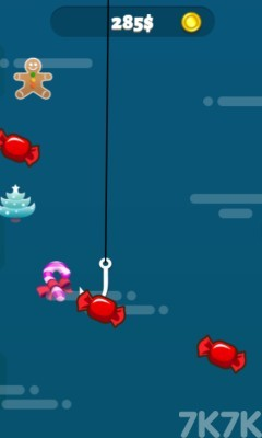 《圣誕釣魚大師》游戲畫面3