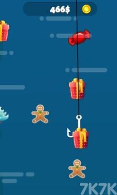 《圣誕釣魚大師》游戲畫面1