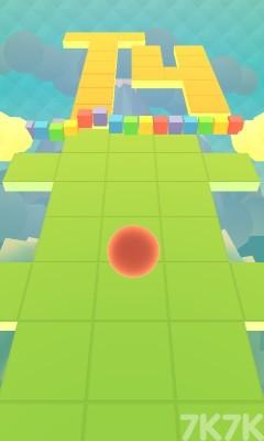《彩虹小球冲刺》游戏画面4