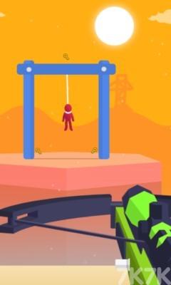 《狙击小红人无敌版》游戏画面3