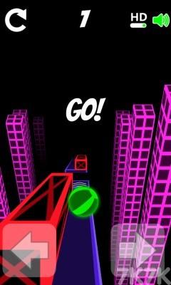 《滚动的小球》游戏画面4