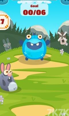 《怪兽吃小球》游戏画面3