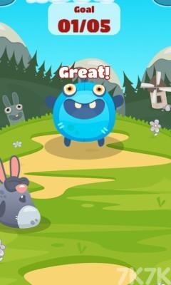 《怪兽吃小球》游戏画面1