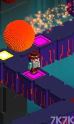 《像素头逃亡》游戏画面4