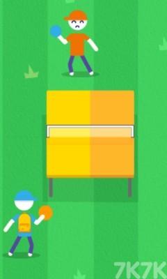 《乒乓球挑战赛》游戏画面3