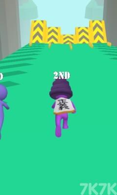 《3D趣味赛跑修改版》游戏画面1