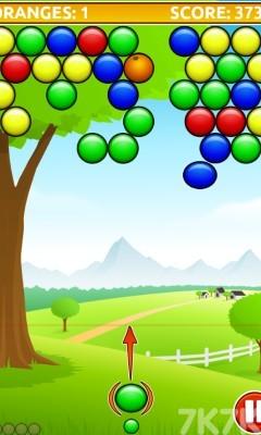 《橘子泡泡龙》游戏画面3