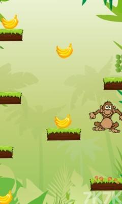 《小猴子丛林跳跃》游戏画面3