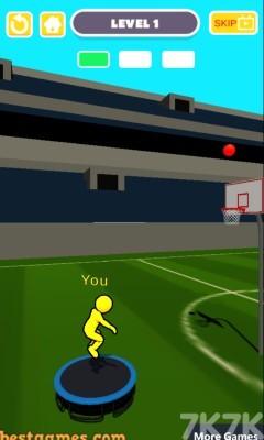 《弹跳投篮》游戏画面1