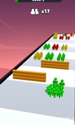 《橡皮人集结》游戏画面2