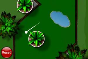 《迷你高尔夫赛》游戏画面1