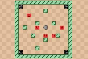 《反向射方块》游戏画面1