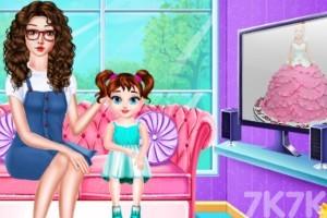 《梦幻公主蛋糕》游戏画面2