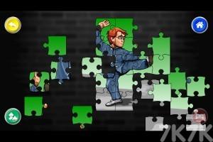 《斗士美术拼图》游戏画面3
