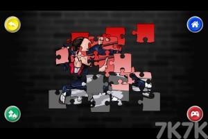 《斗士美术拼图》游戏画面1