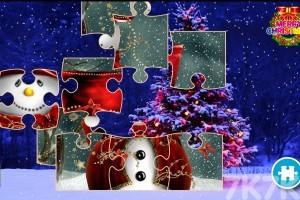 《圣誕拼圖挑戰》游戲畫面1