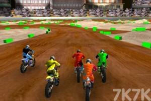 《越野摩托大赛》游戏画面2