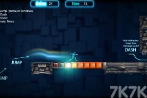 《机械人跑酷》游戏画面2
