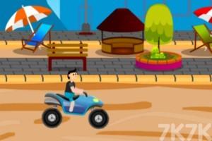 《沙灘車障礙賽》游戲畫面2