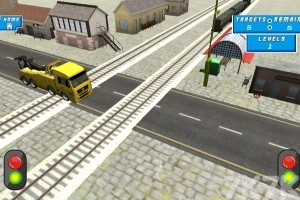 《模拟铁路口》游戏画面2