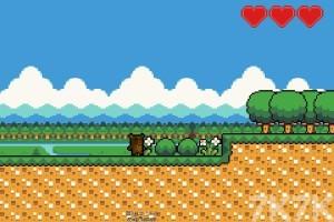 《超级像素熊》游戏画面1