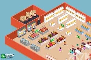 《超市管理员无敌版》游戏画面2