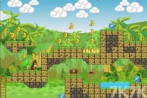 《小猴父子历险记H5无敌版》游戏画面4
