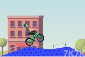 《炫技自行车大赛》游戏画面3