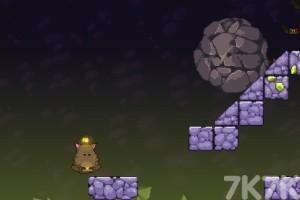 《胖胖猫山洞大闯关H5》游戏画面2