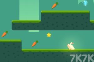 《贪吃的小兔子》游戏画面3