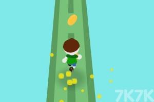 《橡皮人春季賽跑》游戲畫面2