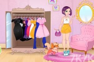 《装扮可爱公主》游戏画面1