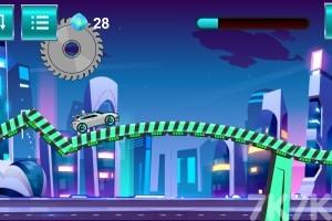 《赛博竞速》游戏画面4
