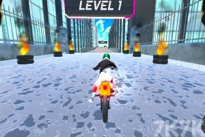 《城市摩托車競賽》游戲畫面1