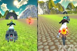 《城市摩托車競賽》游戲畫面4