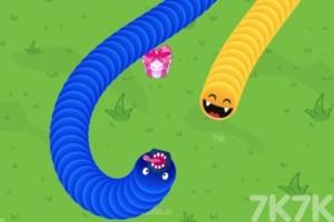 《贪吃蛇升级战》游戏画面1