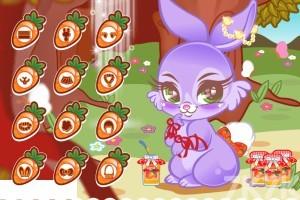 《可爱的兔子》游戏画面2